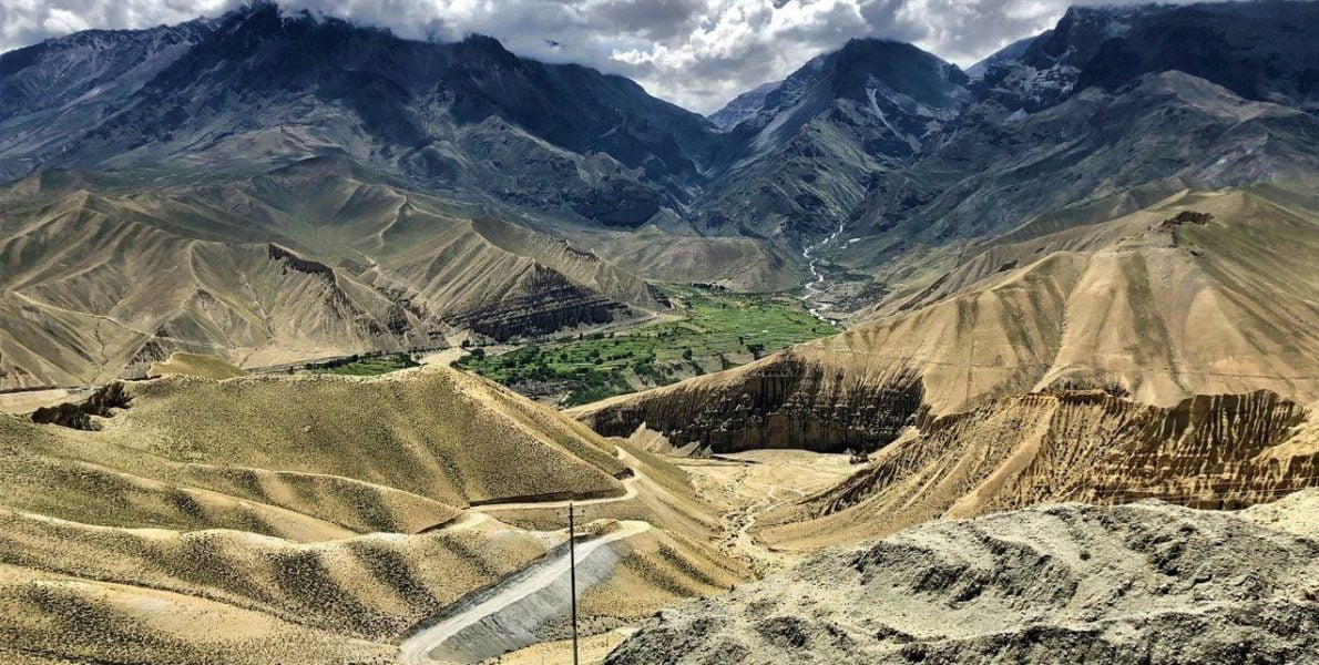 Deserted Valley of Upper Mustang- Mustang Jeep Tour