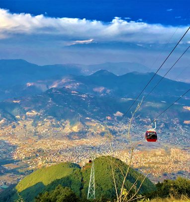 amazing scenes captured from Chandragiri hill during Chandragiri hill short hiking