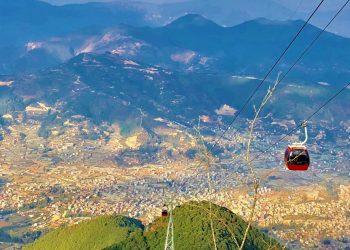 amazing scenes captured from Chandragiri hill during Chandragiri hill short hiking