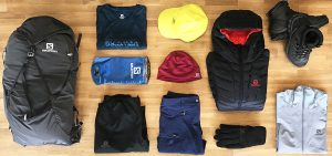 Recommended trekking packing and Equipment Checklist