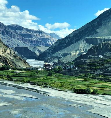 Jomsom to Muktinath Trekking