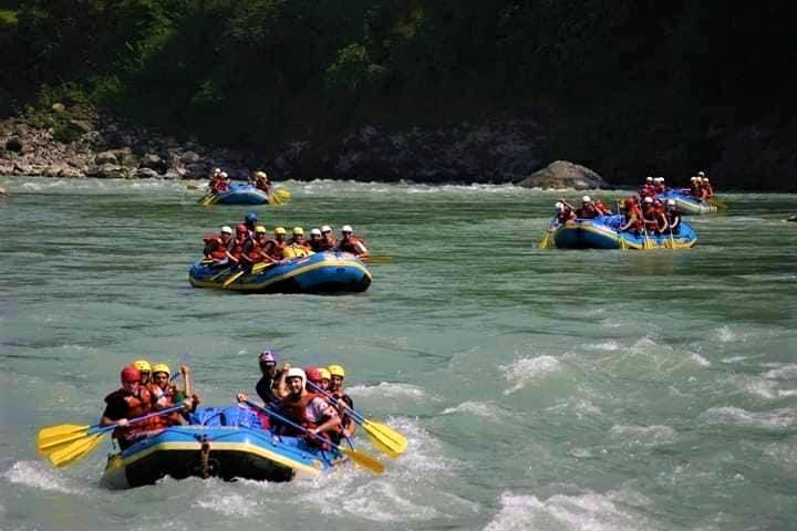 Nepal Tour[ Adventure Tour in Nepal] - Rafting in Trishuli River