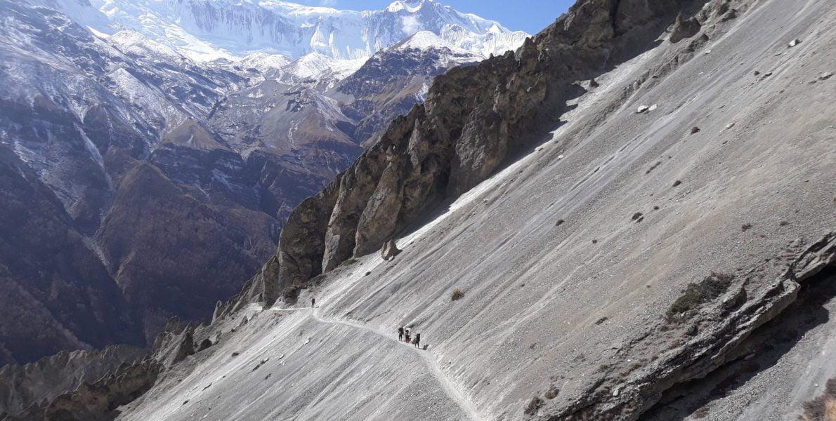 Tilicho Lake Trek Route