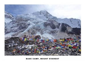 A beautiful scenery of Everest Base Camp