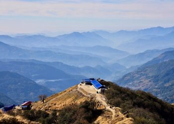 Gliking in Nepal, a new trend for hiking