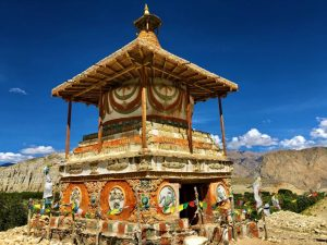 A Buddhist monument in Valley