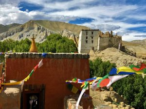 Ancient building in Lo Manthang