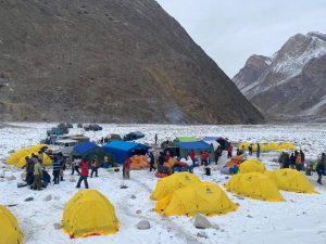 Climbing K2 During winter