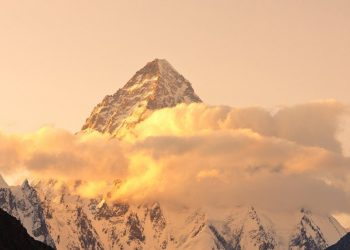Impossible Mount k2 climb during winter