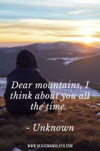 mountain quote for captions